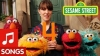 Screenshot of Sesame Street: Feist sings 1,2,3,4