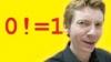 Screenshot of Zero Factorial - Numberphile